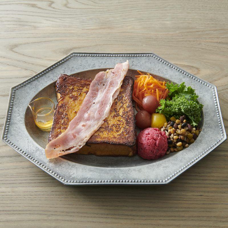 お食事鉄板フレンチトーストプレート