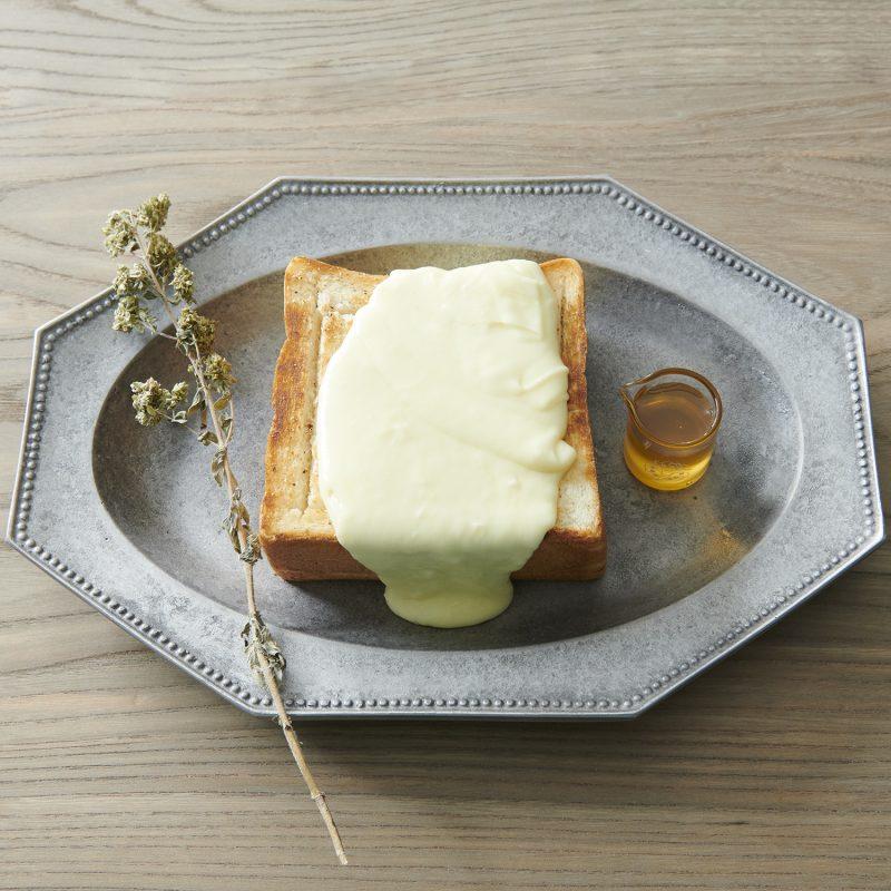 極厚鉄板チーズトースト